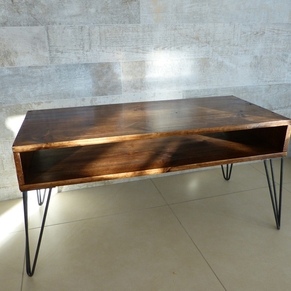 Table basse scandinave for Meuble tv et table basse scandinave